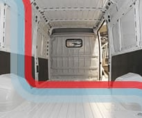 On the road with Ford Transit Custom van hire