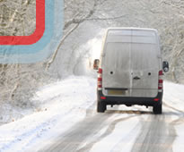 Promoting driver compliance to tackle winter road safety risks