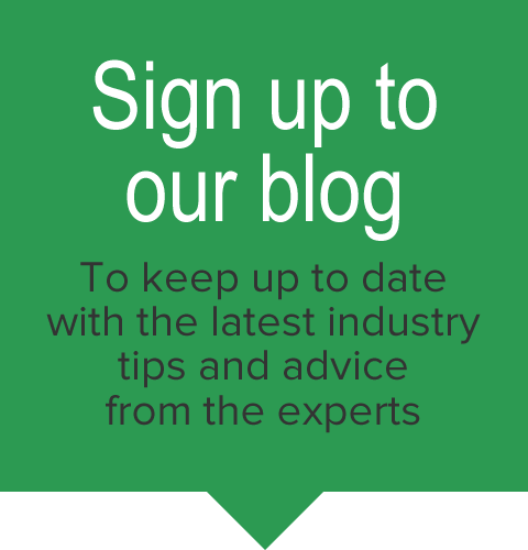 Sign up to our blog
