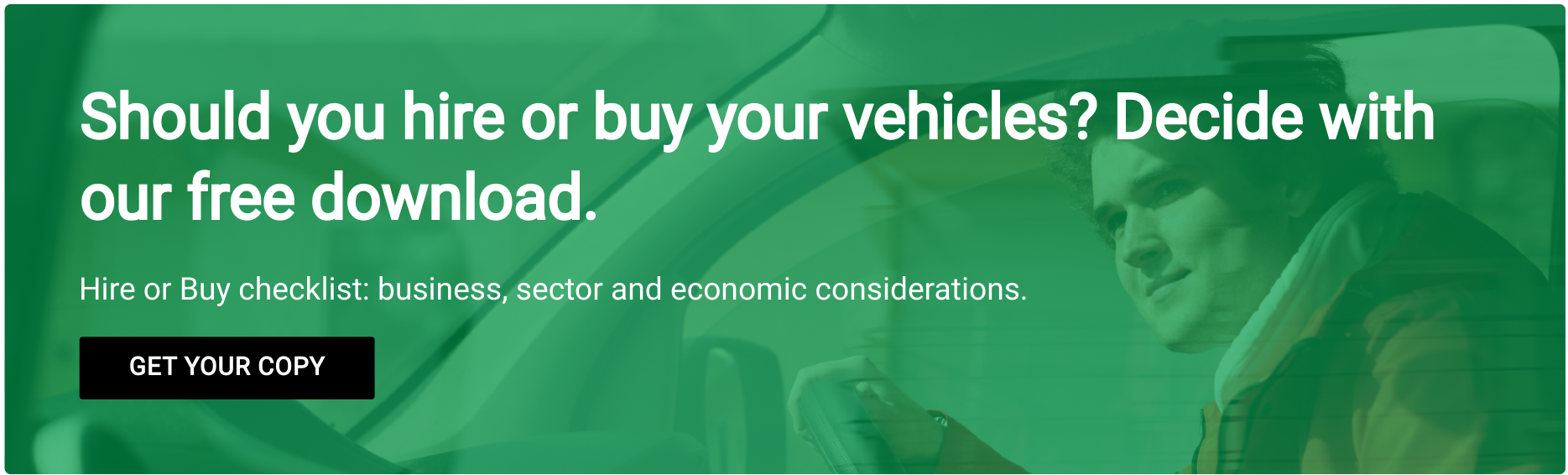 LCV acqusition - hire or buy